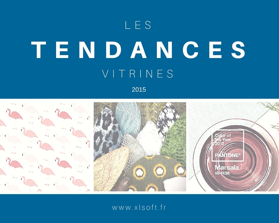 Tendances Vitrines 2015 - XL Soft - Solution de caisse magasin