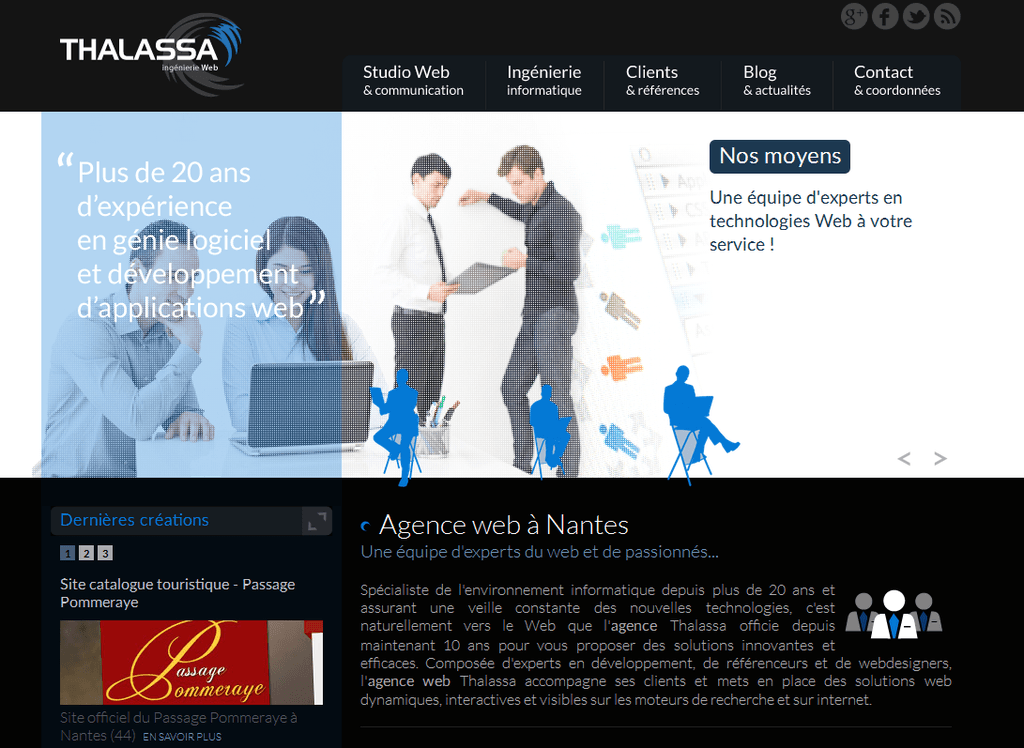Thalassa Ingénierie Web