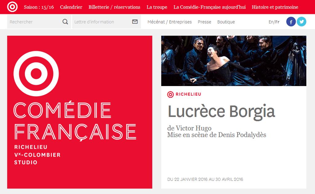 Comedie Francaise Calendrier.Temoignage Xl Soft Du Theatre De La Comedie Francaise