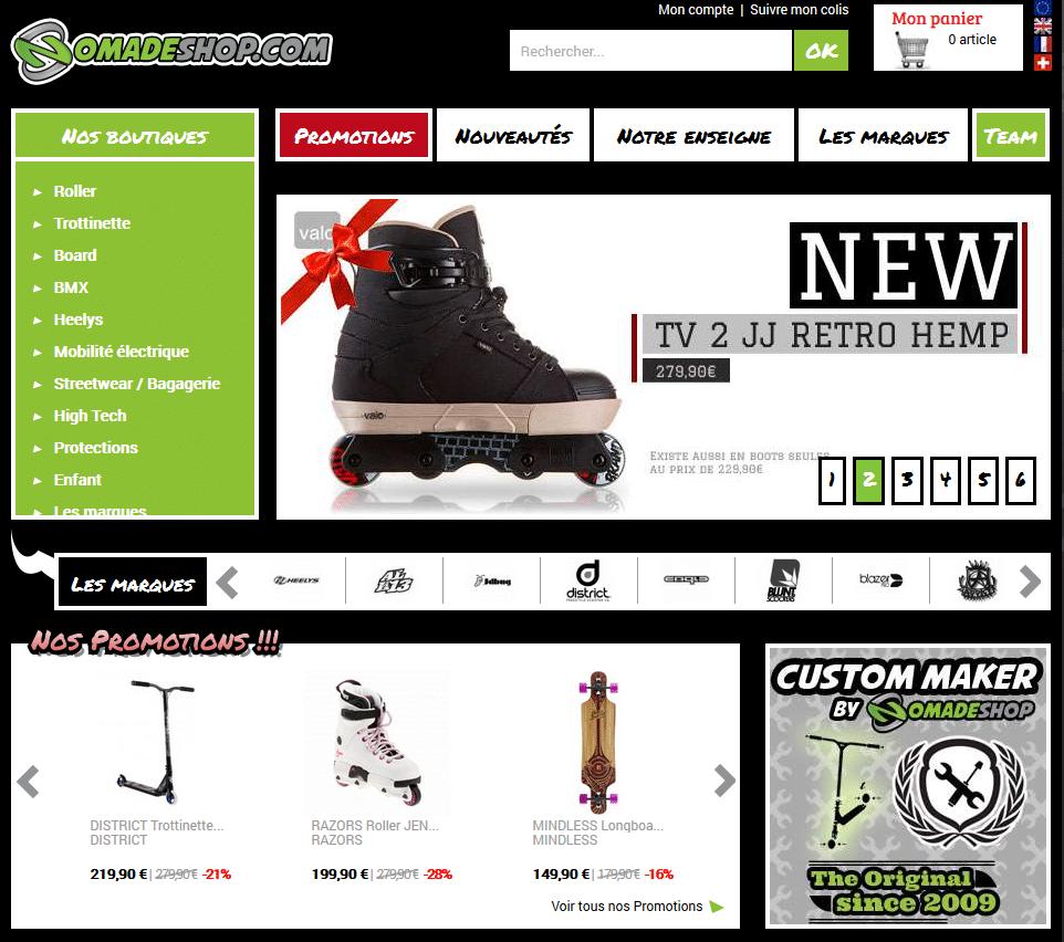XL Soft équipe Nomade Shop