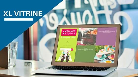 XL Vitrine application web dédiée à la gestion du produit